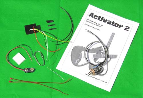 Activator 2 - A DIY onboard JFET preamp kit for guitars and basses